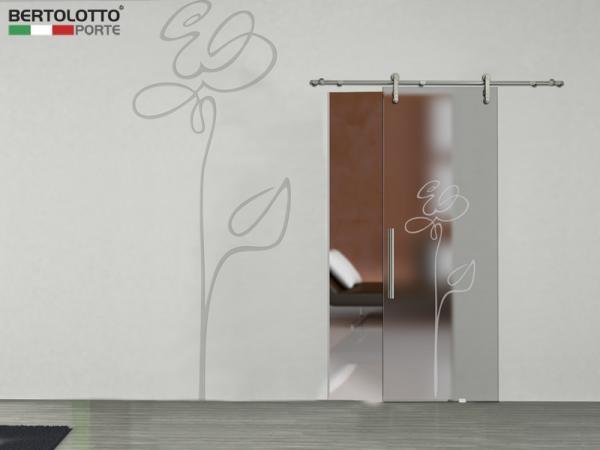Casa moderna roma italy porte scorrevoli vetro prezzi - Porte in vetro scorrevoli esterno muro ...