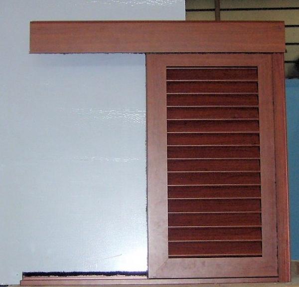 Persiana scorrevole con mantovana - Persiane per finestre scorrevoli ...